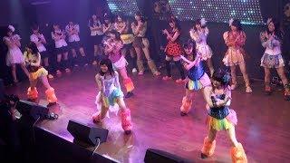 【2017年7月9日】仮面女子カフェ2部公演のトリはスチームガールズ。水...