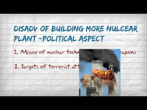 Nuclear power advantages and disadvantages - YouTube