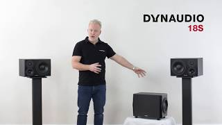 Get to know the Dynaudio 18S studio subwoofer