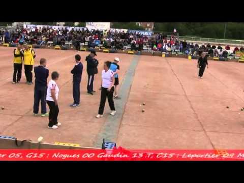 Finales France Doubles, Sport Boules, Talant 2014