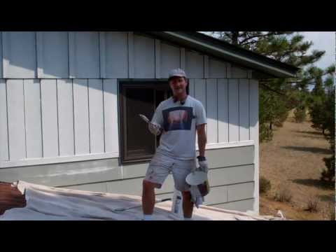 Exterior Painting Step 4: Priming Bare Wood