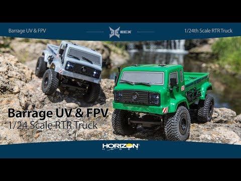 ECX 1/24 4wd Barrage UV & FPV: RTR