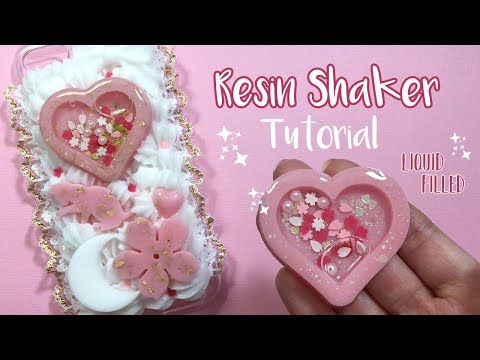 Resin Shaker Charm Tutorial w/ Liquid | Watch Me Resin