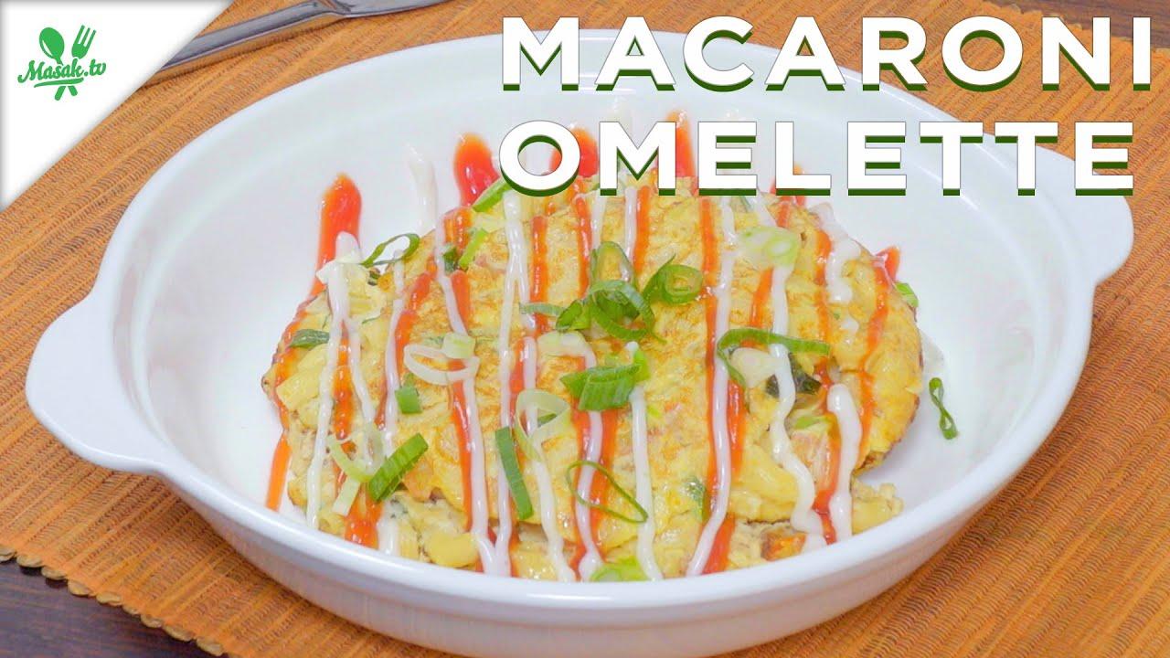 Resep Macaroni Omelette