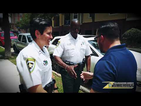 James Burlander - Get Ready To Meet Your Local Hillsborough Sheriff's Office Deputies!