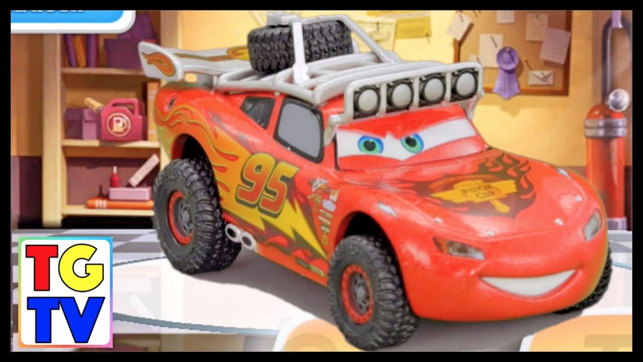 Disney Pixar Cars Lightning Mcqueen Shifty Races Cars