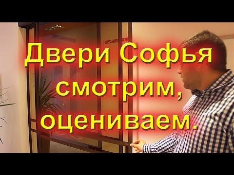 Видео обзор дверей Софья у дилера с комментариями.