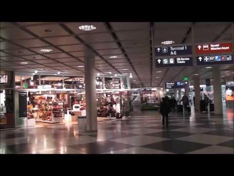 Inside Terminal 1 , Munich International Airport , Germany