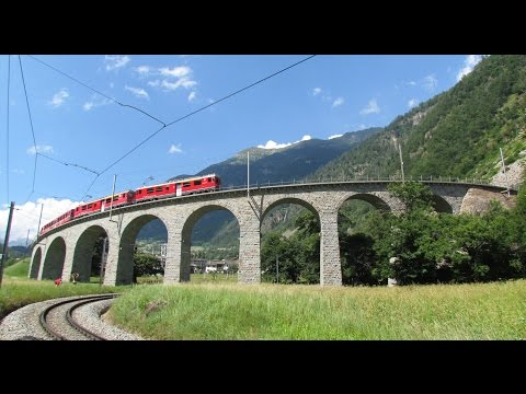 Rhätische Bahn - Albula Linie - Glacier Express