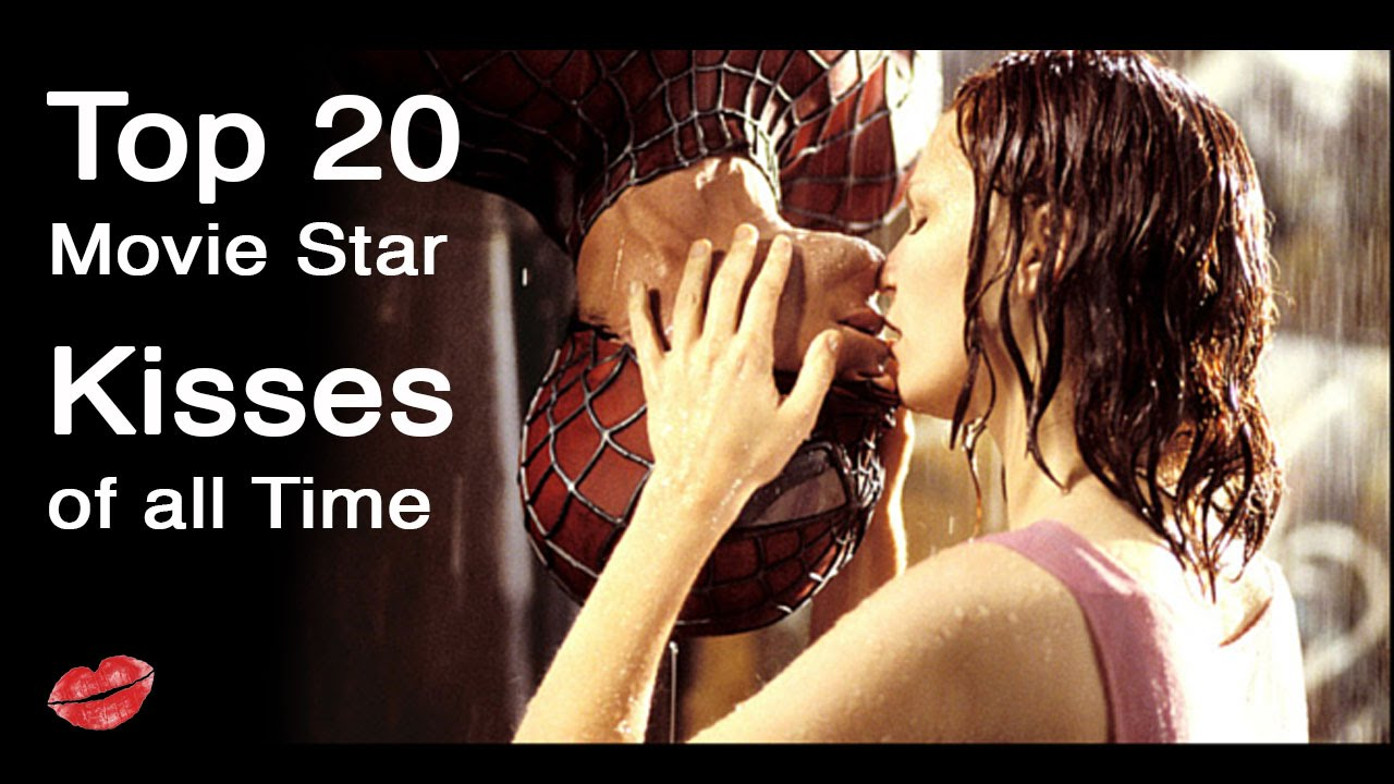 Top 20 Celebrity Movie Star Kisses