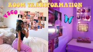 ROOM TRANSFORMATION | VSCO INSPIRED