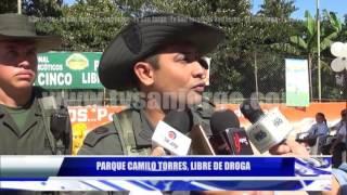 PARQUE CAMILO TORRES, LIBRE DE DROGA