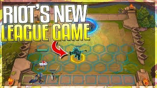 RIOT'S NEW LEAGUE GAME IS HERE!! Teamfight Tactics (League Auto Chess) EXPLAINED!!