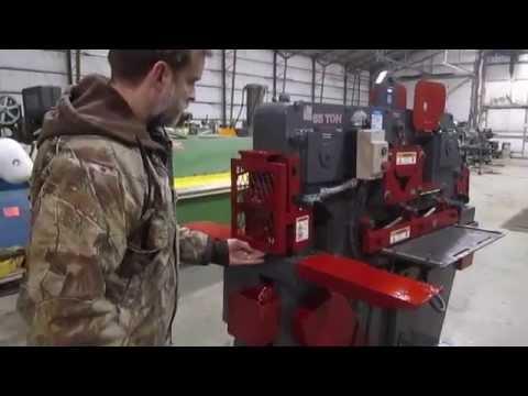 12957 Edwards 65 Ton Jaws V Ironworker