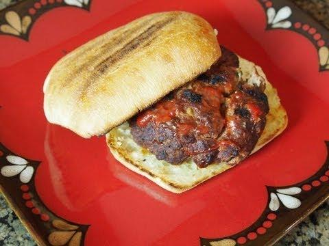 Planked Meatloaf Burger Recipe! - YouTube