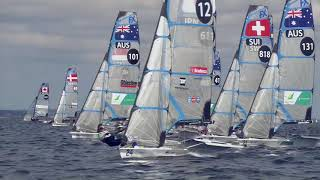49er Sailing Highlights - 2018 World Championship - Day 1