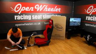 Game Driving Seats: the Open Wheeler Racing Cockpit