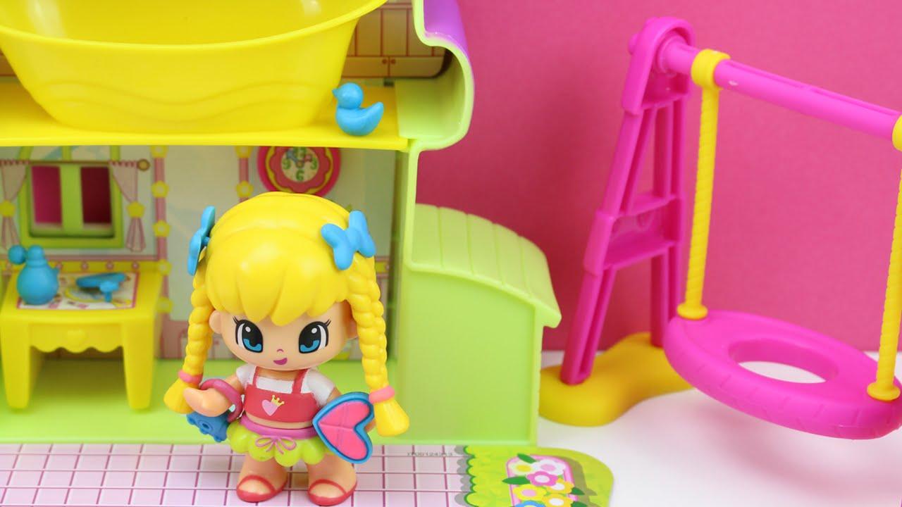La casa de pinypon pinypon en espa ol juguetes de for Casa de juguetes para jardin