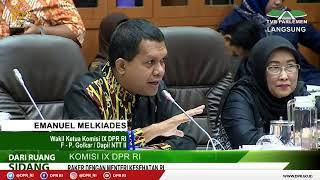 LIVE STREAMING - Komisi IX DPR Rapat Kerja dengan Menteri Kesehatan