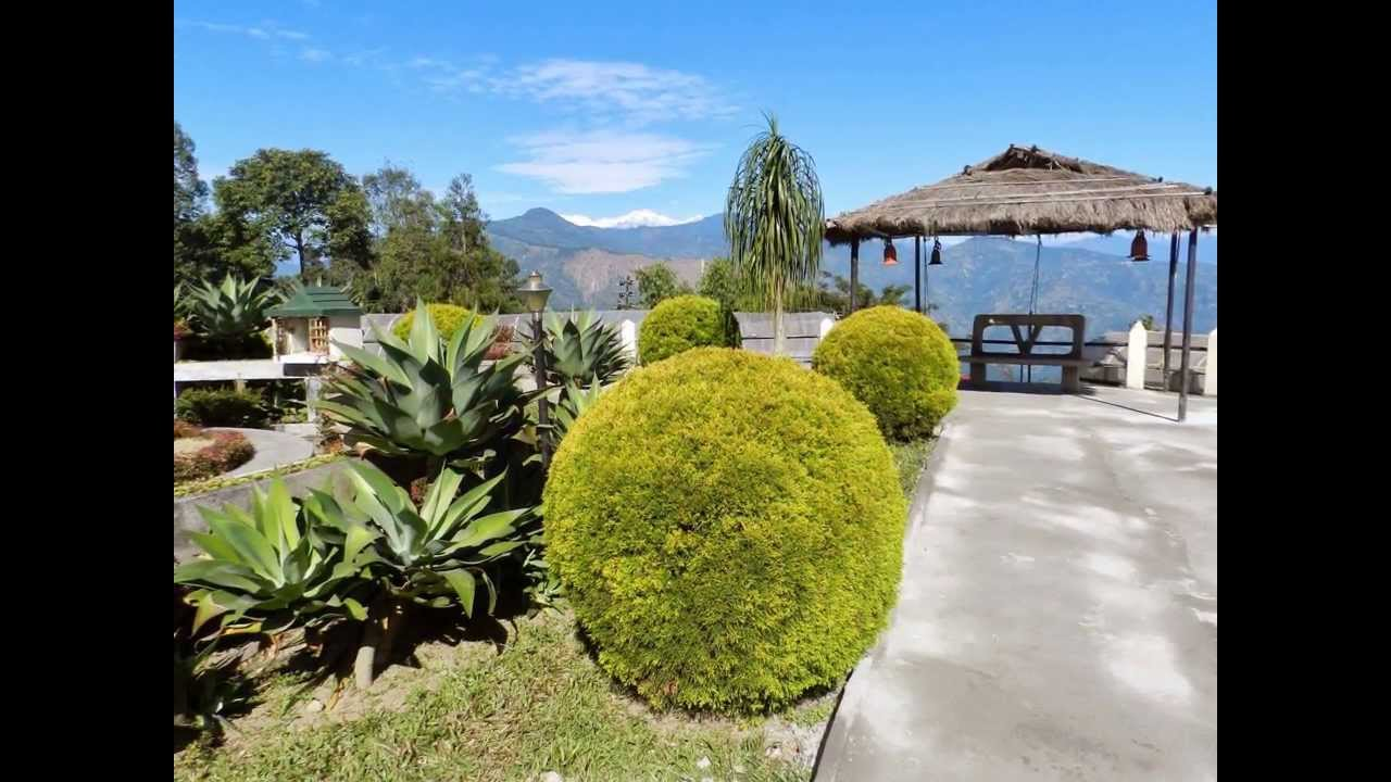the pine view nursery or the cactus garden at kalimpong - Garden View Nursery