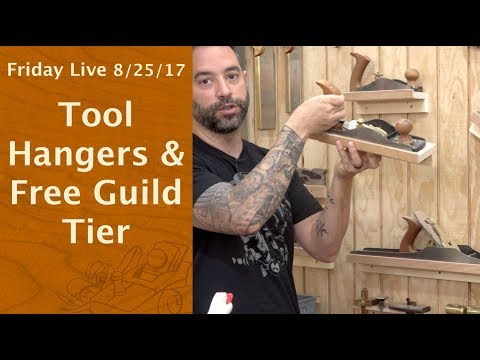 Tool Hangers & Guild Free Tier - Friday Live!