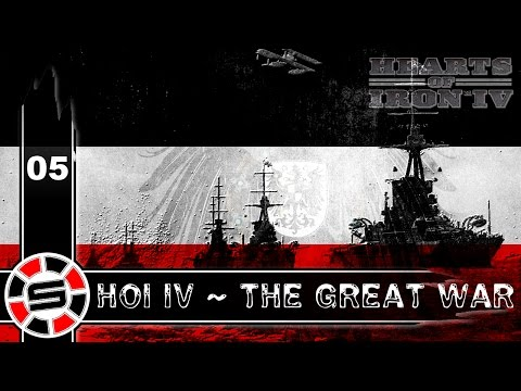 Let's Play: HOI IV ~ The Great War Mod E05 ~ Central Powers Stronk!