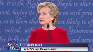 World Over - 2016-09-29 - First Presidential Debate, Larry Kudlow with Raymond Arroyo