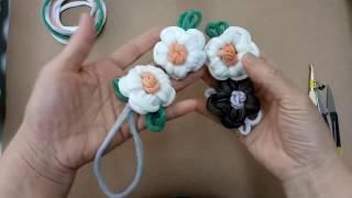 양말목 공예 / 꽃만들기 Sockneck crafts …
