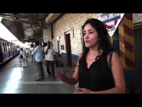 ECUATORIANOS EN EL MUNDO CON GALO ARELLANO MUMBAI INDIA CRISTINA CHIRIBOGA 1-3