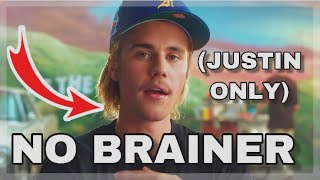 JUSTIN BIEBER39;S PART IN NO BRAINER