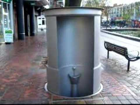 Watfords New Pop Up Loo In Operation