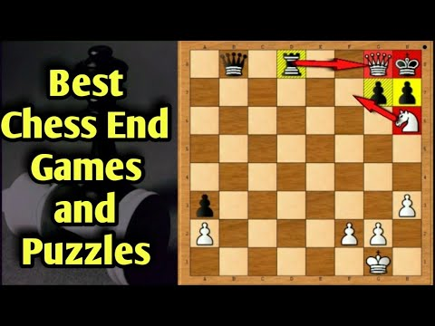 Best Chess End game and Puzzles -  Amazing Tricks in Chess l GM Chess l