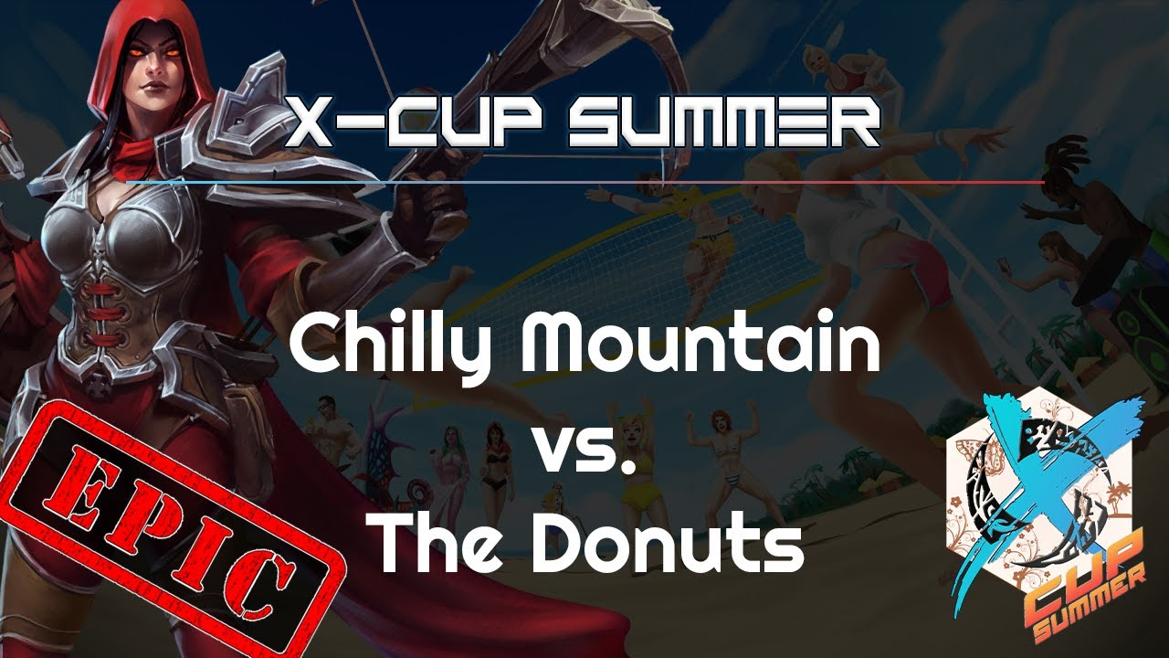 Donuts vs. Chilly Mt. - X-Cup Summer - Heroes of the Storm 2021