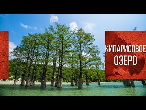 Кипарисовое озеро   Озеро Сукко   Путешествие на машине по Краснодарскому краю
