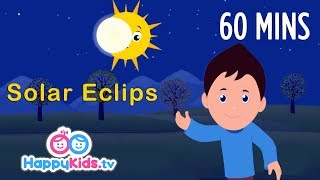 Solar System | Learning Songs Collection | Rhymes For Kids, Children And Babies | Happy Kids