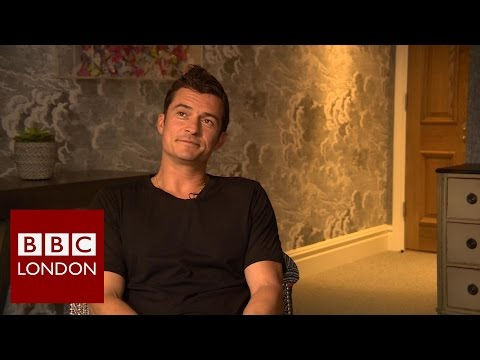 Orlando Bloom interview – BBC London News