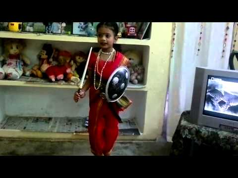 Jhansi ki rani fancy dress competition in royal college (Jahanavi Chandra)