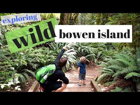 Exploring WILD Bowen Island!