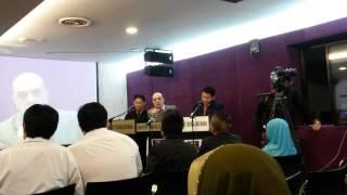 Ucapan Para Penulis Kamus Bahasa Malaysia-Bahasa Itali Yang Pertama di Dunia