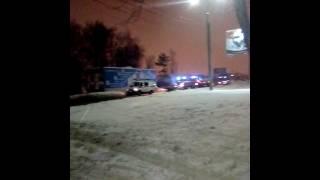 Пожар на улице Минской снова