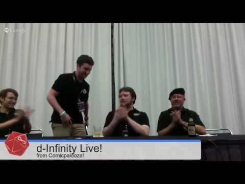 d-Infinity Live! Comicpalooza Convention Special