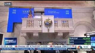 CNBC International: Opening Bell on Squawk on the street 2/7/2017 9:24 ET