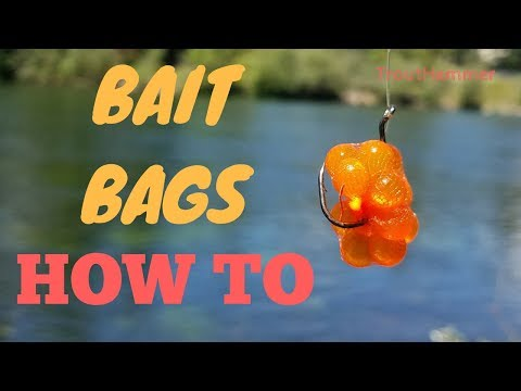 How To Make Spawn Bags For Salmon And Steelhead Fishing