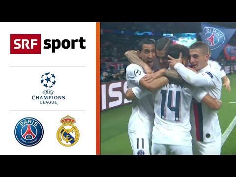 Di Maria führt PSG zum Sieg | Paris St. Germain - Real Madrid 3:0 | Highlights - Champions League