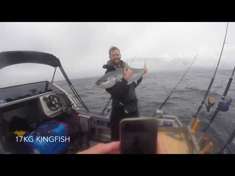 Live-baiting For Kingfish - Tairua, New Zealand