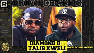 "Talib Kweli & Diamond D Talk Kanye West, Dave Chappelle, New Album ""Gotham,"" & More   Drink Champs"