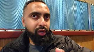 An airport chat with SuperSaf TV! UK