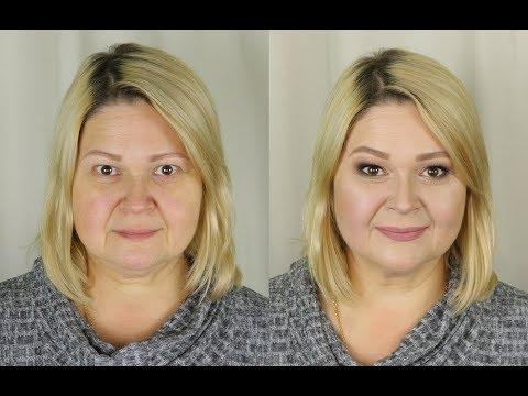 Классический возрастной макияж