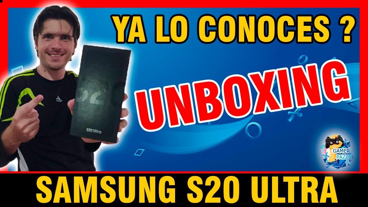 !! LLEGO LA HORA ¡¡ 🤪 Primer UNBOXING Smartphone: 📱 SAMSUNG S20 ULTRA 💣