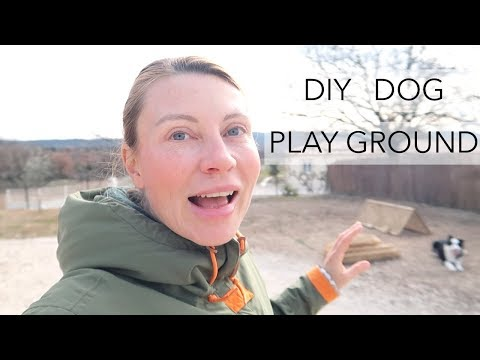 DIY DOGS PLAYGROUND | WHAT I MADE FOR MY GILRS TO PLAY